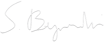 Sebastian Bagiński's sygnature